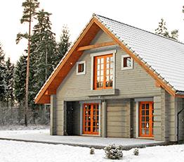 Строительство домов из лафета в Хабаровске